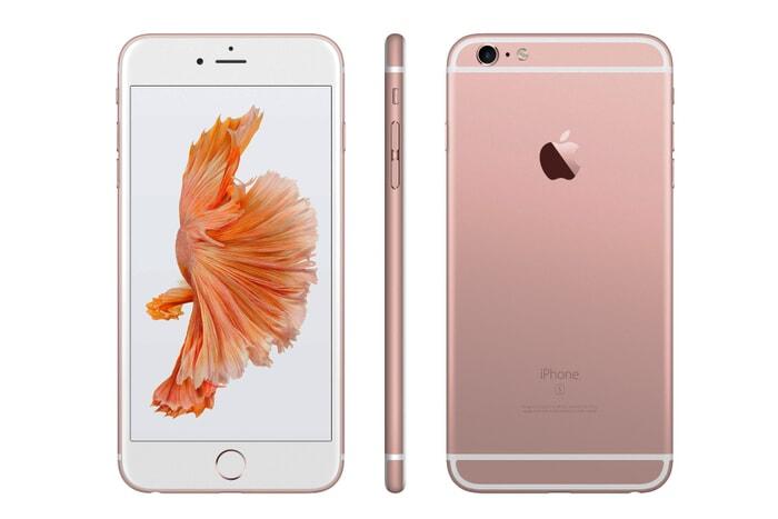 Apple iPhone 6s, roségold