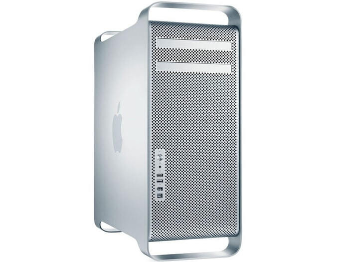 Apple Mac Pro 5.1 A1289 PC,  Intel Xeon Prozessor MP E5620, 16 GB DDR3 SDRAM, 1 TB HDD, Ansicht von Vorne