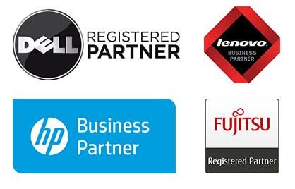 Hochwertige Geräte der Firmen Dell, Lenovo, HP und Fujitsu